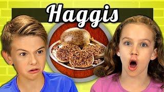KIDS vs. FOOD #20 - HAGGIS - dooclip.me