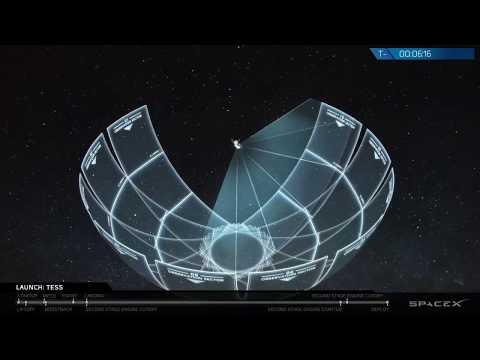 Ступінь Falcon 9 здійснила посадку на баржу в Атлантиці після запуску супутника NASA