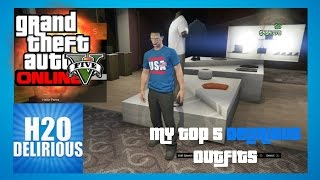 GTA 5 Online - My Top 5 H2O Delirious Outfits
