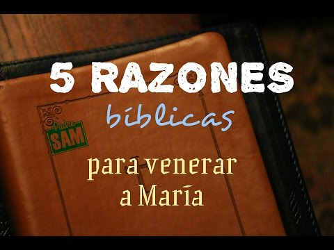 RAZONES BIBLICAS DEL POR QUÉ VENERAMOS A MARÍA