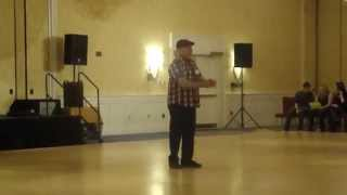 Sweet Pea line dance - taught by Frank Trace at the Boston Showdown 2014