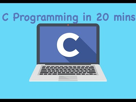 Learn C PROGRAMMING in 20 minutes with this hands on Tutorial | Learn to Code in C