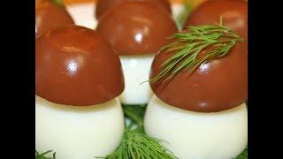 Идеи подачи куриных яиц
