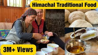 Himachal Traditional Food || Siddu Recipe || Shahi Pakwan || Healthy Food || Delicious Food