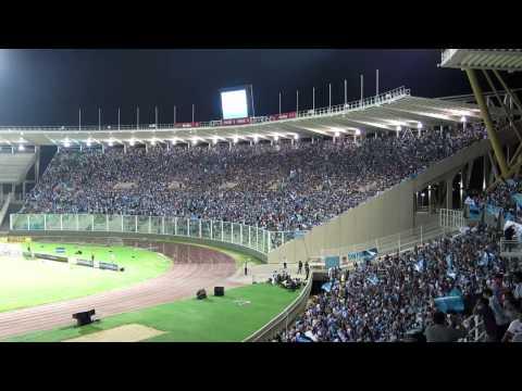 """""""ReciBimiento de Belgrano contra las gallinas"""" Barra: Los Piratas Celestes de Alberdi • Club: Belgrano"""