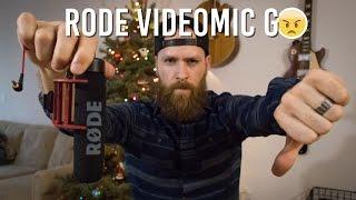 Rode Videomic Go Review - Worst Vlogging Mic?