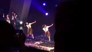 2018/10/26 AKB48 舞台マジムリ学園 撮影タイム 言い訳Maybe 小栗有以 運上弘菜 日本青年館