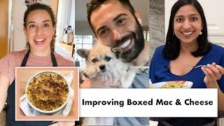 Pro Chefs Improve Boxed Macaroni & Cheese (8 Methods) | Test Kitchen Talks @ Home | Bon Appétit