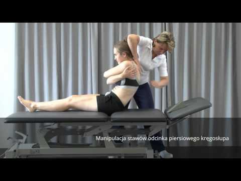 Przykład ćwiczenia z osteochondroza