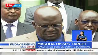 CS Magoha still pushing for a 100% transition