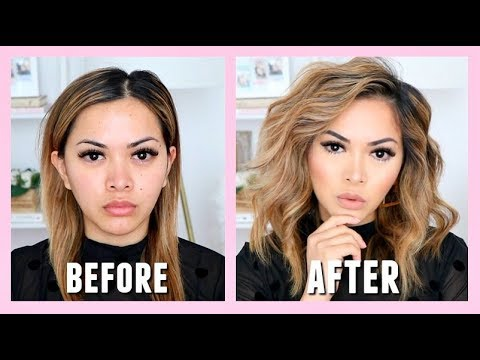 f31a98d68a6a HOW TO CURL HAIR WITH A STRAIGHTENER (fast and easy)