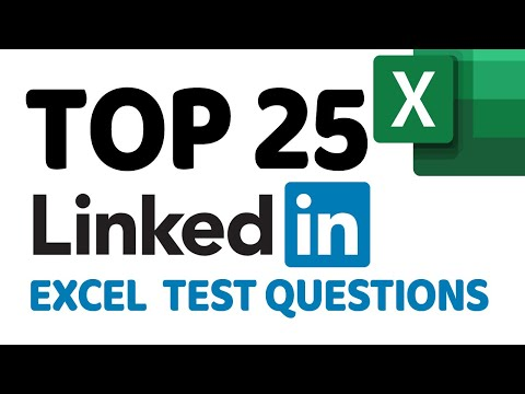 How to Pass LinkedIn Excel Job Test: Top 25 Questions and ...
