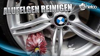Alufelgen reinigen / Felgen säubern - eingebrannten Bremsstaub entfernen 83metoo