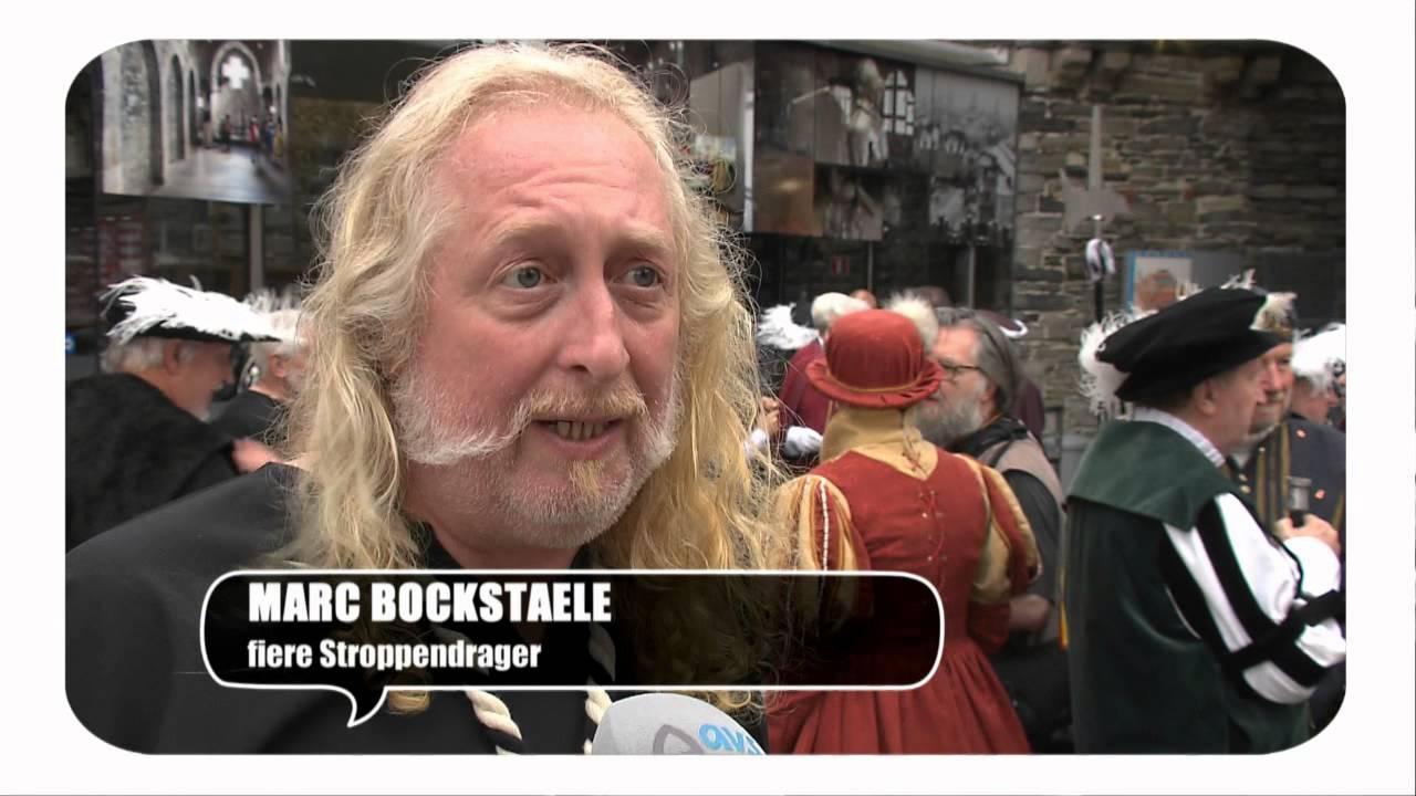 Gentse Feesten 2015 dag 8: 42ste rondgang gilde van de stroppendragers, Keizer Karel Gravensteen