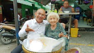 Thương ngoại Ba Nổi 91 tuổi 1 mâm xôi kiếm 30k tiền chợ mỗi ngày vẫn cuời tỏa nắng