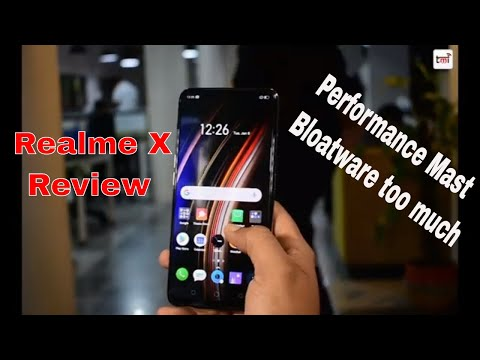 Realme X Review: Performance Top Notch, Bloatware too much!
