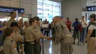 Troops At DFW May 7 2011