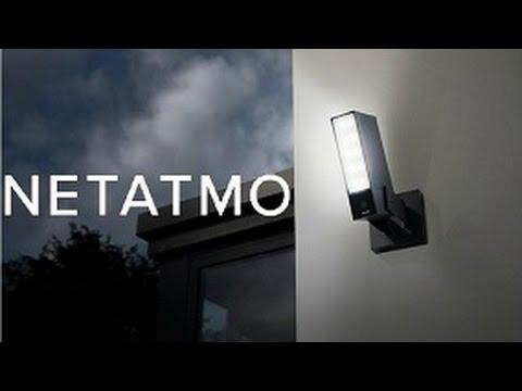 Outdoor Sicherheitskamera mit Erkennung von Menschen, Fahrzeugen und Tieren - Netatmo Pesence
