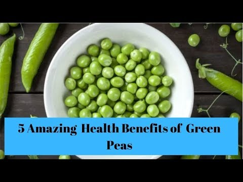 5 Amazing Health Benefits of Green Peas