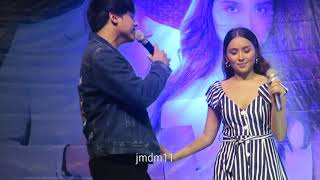 Oohh Baby I Love Your Way by Daniel Padilla and Kathryn Bernardo at Sterling Above The Rest Concert