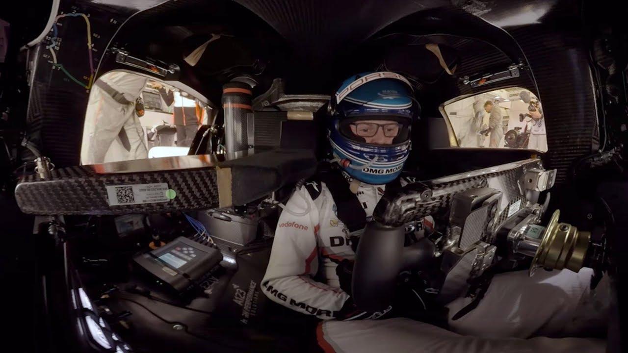 Watch A Porsche 919 Hybrid Lap Le Mans In 360 Degrees