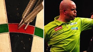 The greatest 9 darters in World Darts Championships history!
