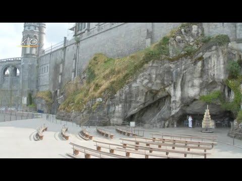Chapelet à Lourdes du 29 mars 2020