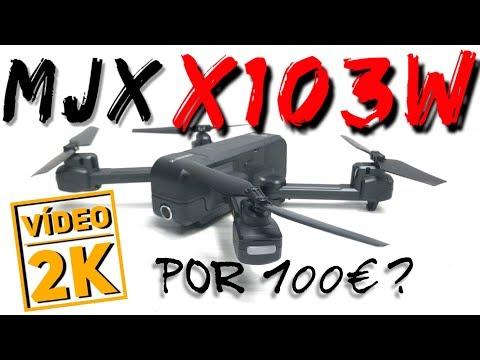 MJX X103W: DRONE con GPS y CÁMARA 2K por 96€??!!