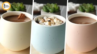 Hot Chocolate 3 Ways - | Our Best | - Recipes By Food Fusion