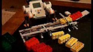 Lego Mindstorms NXT - Conveyor Belt  / Brick Sorter