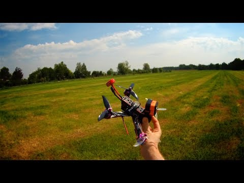 Line Of sight test-flight with the Matek F411-One flight controller :)