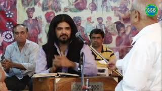 Hin Ishq Je Andaaz Khe Samjhan Ta Dukhiyo Aa sung by Vipin Shewani at Sita Sindhu Bhavan