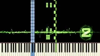 Call of Duty Modern Warfare 2 - Opening Titles - Piano tutorial (Synthesia)