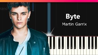 """Martin Garrix & Brooks - """"Byte"""" Piano Tutorial - Chords - How To Play - Cover"""