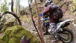 凸凹二輪部 2018年 初走り 泥んこ林道ツーリング