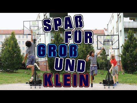 Höhenverstellbare Basketball Korbanlage - Spielspaß Für Groß Und Klein