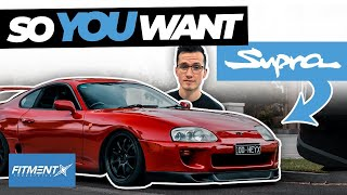 So You Want a Toyota Supra