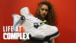 EXCLUSIVE SPIKE LEE AIR JORDAN 4 x DO THE RIGHT THING   #LIFEATCOMPLEX