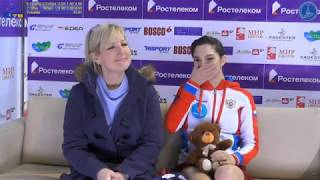 Evgenia Medvedeva SP Final Cup Of Russia - Stream 1