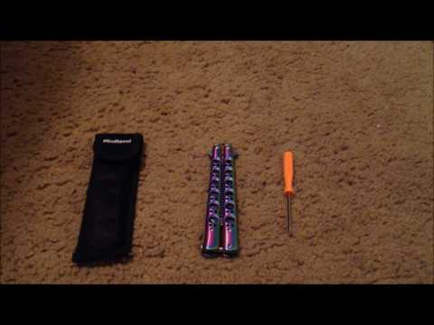 RioRand Butterfly/Balisong knife Comb Trainer Review!