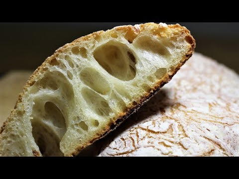 How To Make No Knead Ciabatta_90%hydration_10%olive oil_Lodge_Dutch Oven Bread_home baking
