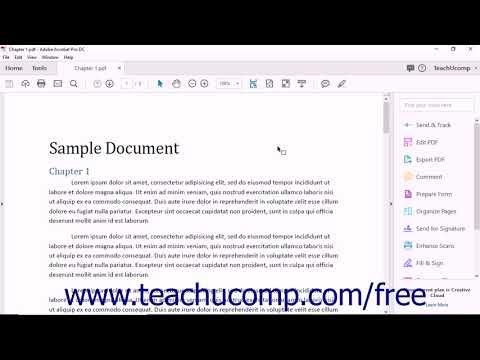 Acrobat Pro DC Introduction to Adobe Acrobat Pro & PDFs- Adobe ...