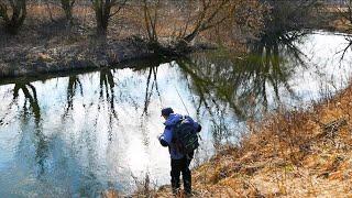 Технология рыбалка на реке или в марте