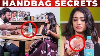 """Only SINGAPORE CASH "" - VJ Diya Menon Handbag Secrets Revealed 