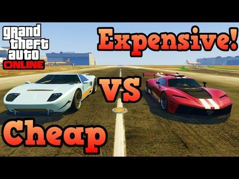 Cheap vs expensive cars - GTA Online