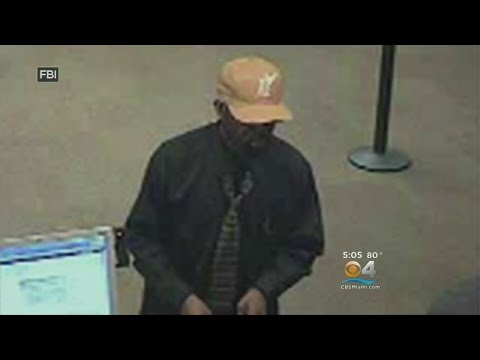 FBI Releases Pictures Of Serial Bank Robber On The Run