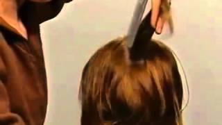 Смотреть онлайн Женская стрижка для волос средней длины