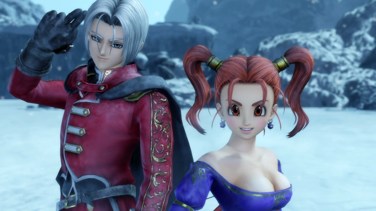 Dragon Quest Heroes II Character: Angelo