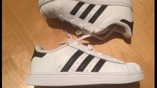 Review of Adidas Originals Superstar Shoes, Infant / Toddler