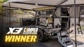 Australias Best Camper Trailer - Patriot Campers X3 - 2020 Camper Trailer Of The Year Winner